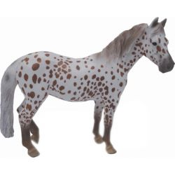 CollectA 88750 - Kuc British Spotted Pony klacz