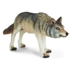 CollectA 88342 - Wilk szary polujący
