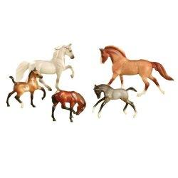 Breyer Stablemates 5980 - Show Stoppers - 5 koni różnych maści