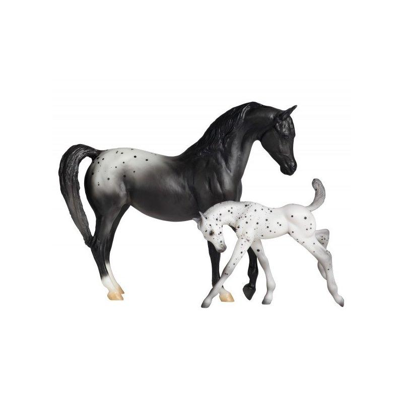 Breyer Classics 62032 - Koń ze żrebakiem rasy Appaloosa
