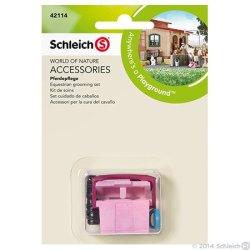 Schleich 42114 - Zestaw do czyszczenia konia