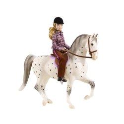 Breyer Traditional 1409 - Koń i jeździec klasyczny