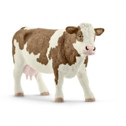 Schleich 13801 - Krowa rasy Simental