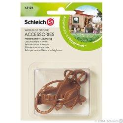 Schleich 42123 - Siodło wypoczynkowe i uzda