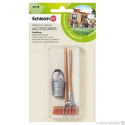 Schleich 42128 - Zestaw do czyszczenia stajni