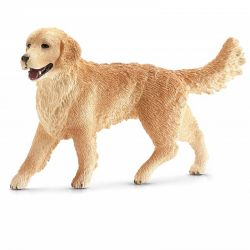 Schleich 16395 - Golden retriever suka