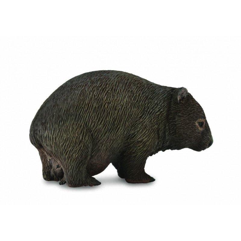 CollectA 88759 - Wombat samica z młodym