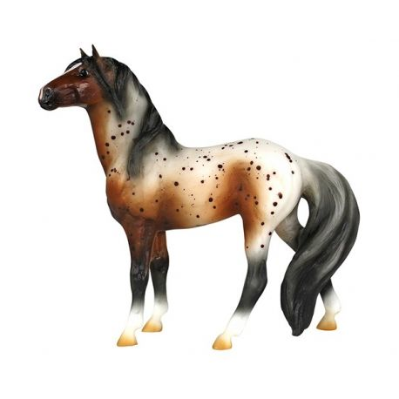 Breyer Classics 925 - Bay Appaloosa Mustang
