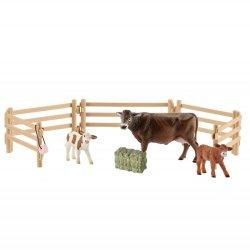 Schleich 42392 - Krowa i dwa cielaki zestaw