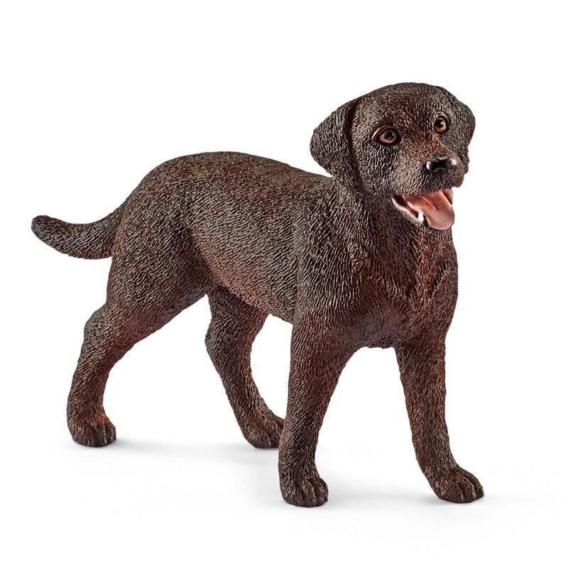 Schleich 13834 - Labrador retriever suka czekoladowa