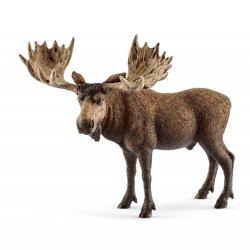 Schleich 14781 - Łoś samiec byk