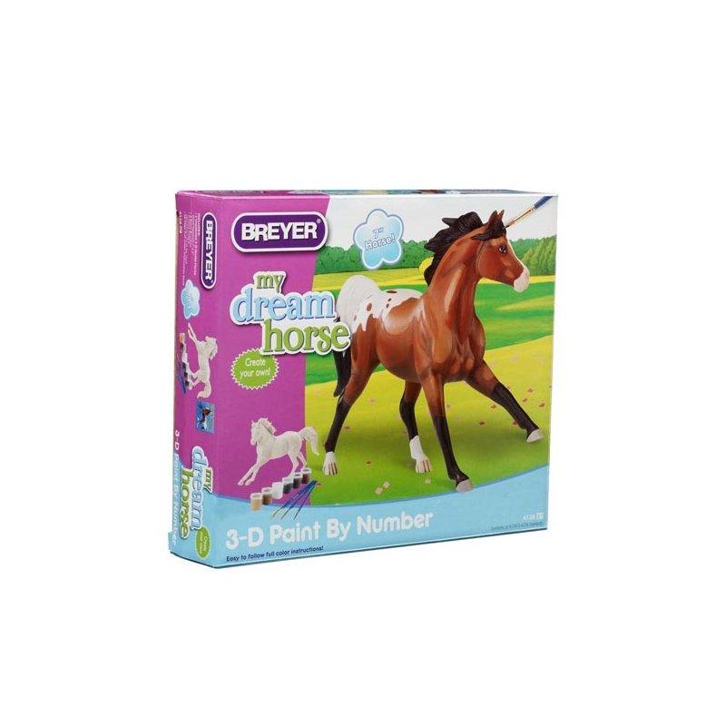 Breyer zestaw 4128 - Koń do malowania rasy Appaloosa