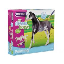 Breyer zestaw 4114 - Dwa konie do malowania arabski i angielski