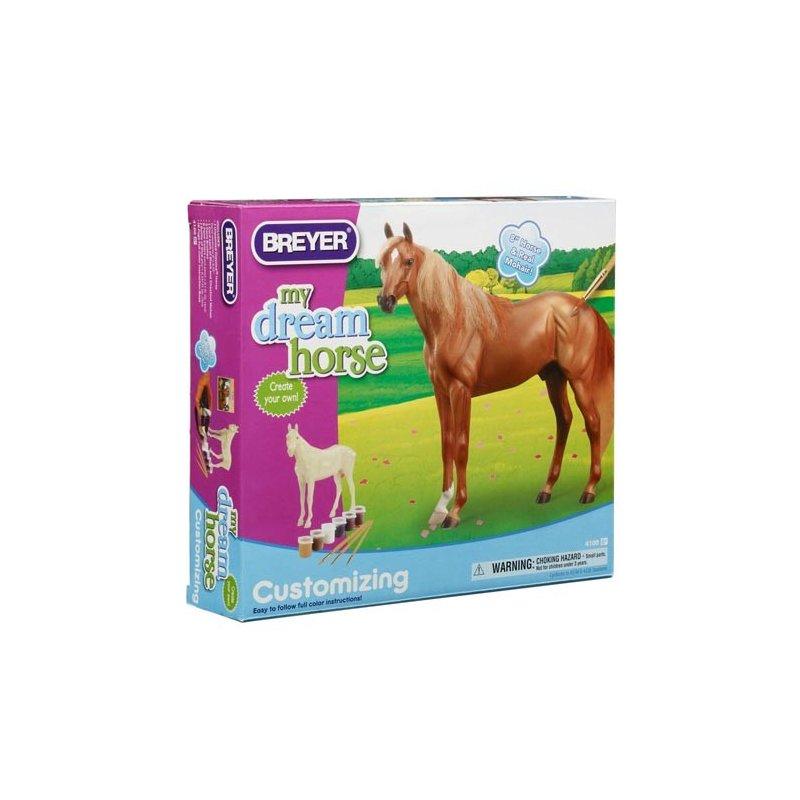 Breyer zestaw 4100 - Koń do malowania pełnej krwi angielskiej
