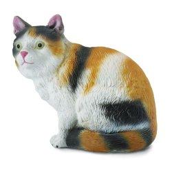 CollectA 88490 - Kot domowy tricolor siedzący