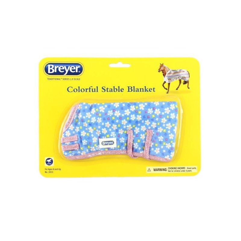 Breyer Traditional 2053 - Kolorowa derka wzór 2