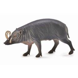 CollectA 88727 - Babirussa wąsata srebrna samiec