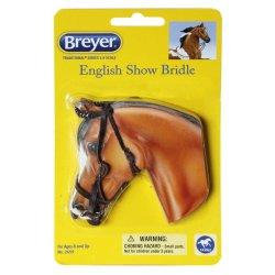 Breyer Traditional 2459 - Ogłowie angielskie brązowe ozdobne
