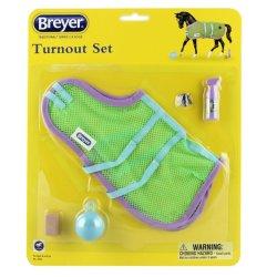 Breyer Traditional 2064 - Derka siatkowa z akcesoriami
