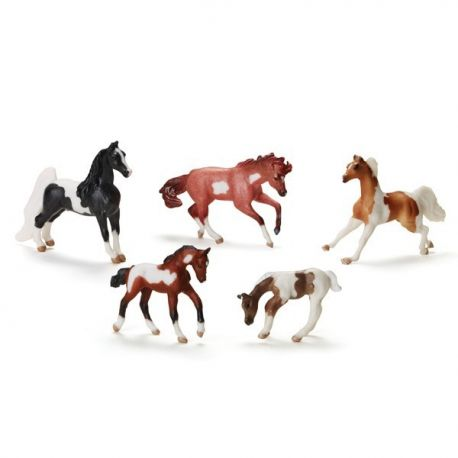 Breyer Mini Pony Gals 7151 - Plamy i łaty