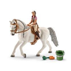 Schleich 41433 - Jeździec z klaczą lipicańską zestaw