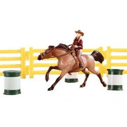 Breyer Stablemates 5377 - Zestaw Barrel Racing