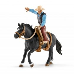 Schleich 41416 - Kowboj na koniu rodeo