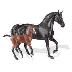 Breyer Classics 62042 - Konie rasy Morgan klacz i źrebię