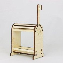 Drewniany stojak na siodło i ogłowie TR wersja Uplus
