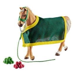 Schleich 42398 - Koń trakeński z derką