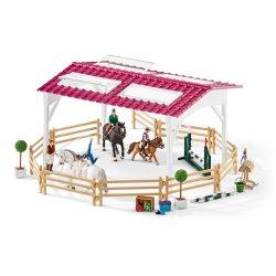 Schleich 42389 - Szkółka jeździecka z jeźdźcami i końmi