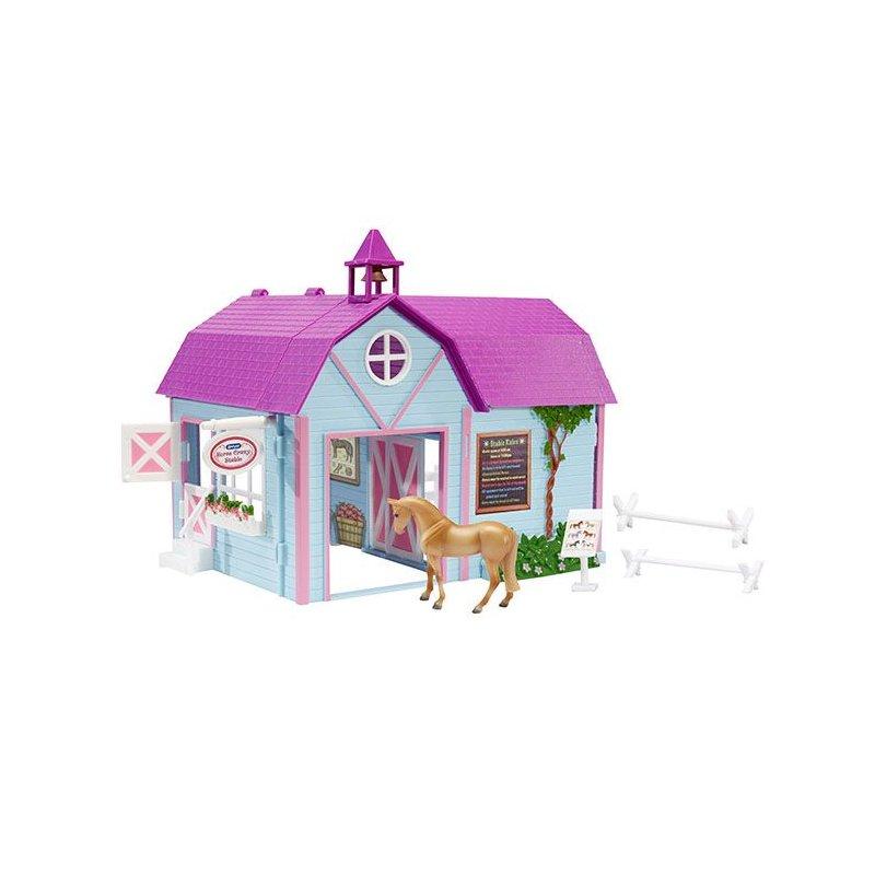 Breyer Stablemates 59193 - Kolorowa stajnia z koniem
