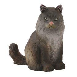 CollectA 88327 - Kot norweski leśny siedzący