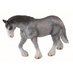 CollectA 88389 - Klacz Clydesdale siwa