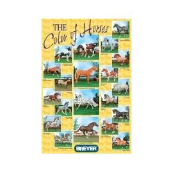 Breyer plakat - Maści koni - The Color of Horses
