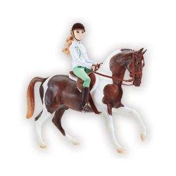 Breyer Traditional 1787 - Koń i jeździec klasyczny