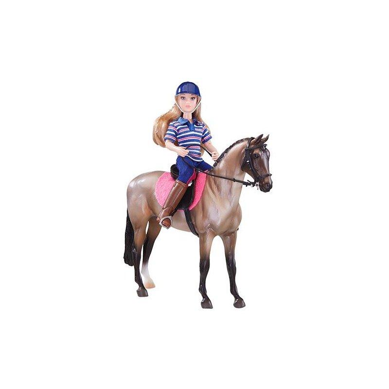 Breyer Classics 61114 - Koń i jeździec klasyczny niebieski