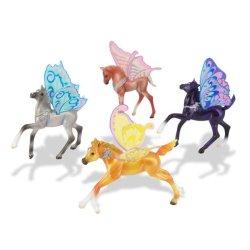 Breyer Wind Dancers 100141 - Skrzydlate koniki 4 sztuki