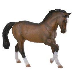CollectA 88827 - Koń ciepłokrwisty ogier gniady