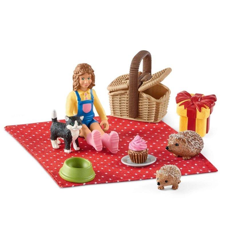Schleich 42426 - Urodzinowy piknik z dziewczynką