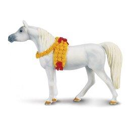 Safari Ltd 159205 - Koń arabski klacz siwa