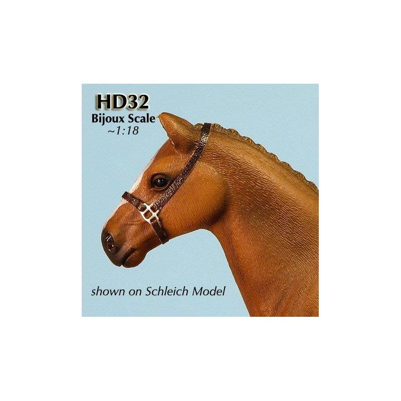 Rio Rondo - HD3210s zestaw 10x sprzączki potrójne LB srebrne