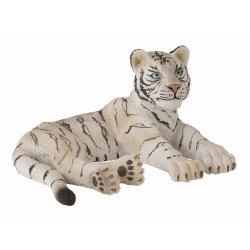 CollectA 88428 - Tygrys biały młody leżący