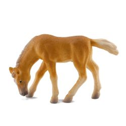 CollectA 88311 - Haflinger źrebię jedzące