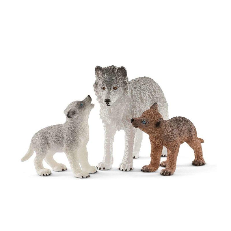 Schleich 42472 - Matka wilk i wilczki