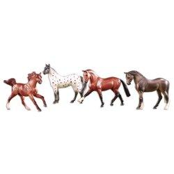 Breyer Stablemates 6021 - Super Sporty - 4 konie sportowe