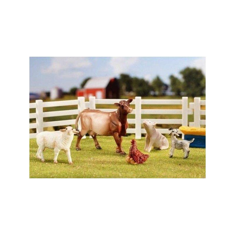 Breyer Stablemates 5365 - Zwierzęta gospodarskie zestaw 1