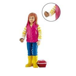 Bullyland 62726 - Dziewczynka Maria czyszcząca konia