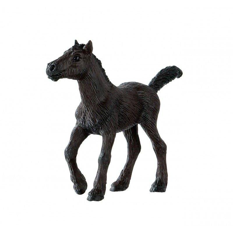 Bullyland 62756 - Koń fryzyjski źrebię