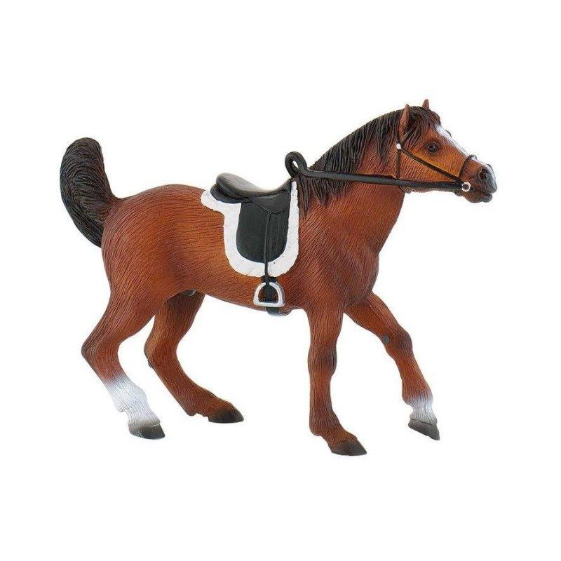 Bullyland 62731 - Koń arabski ogier z siodłem